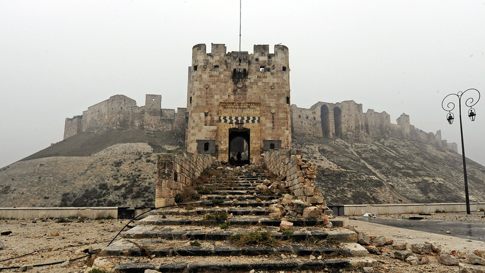 The entrance to the citadel in December 2016