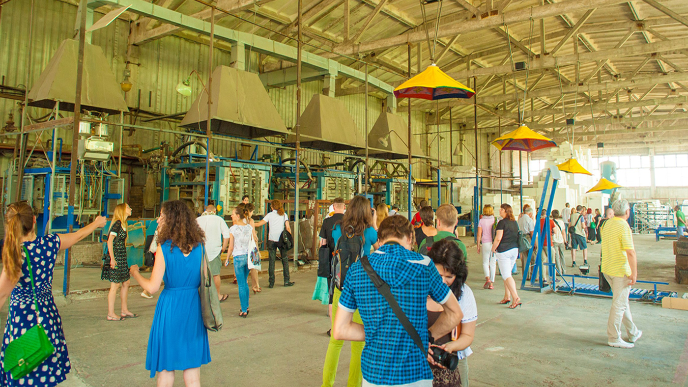"""Арт-центр """"Изоляция"""", июнь 2012"""