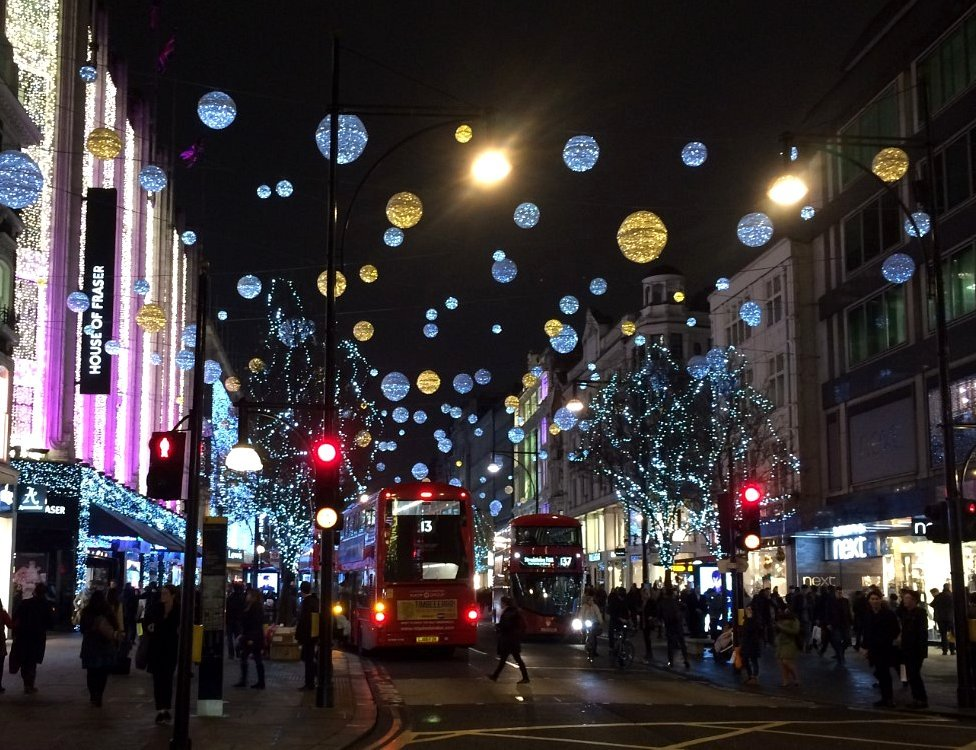 Christmas In London.London At Christmas Revisiting Capital S Festive Past Bbc