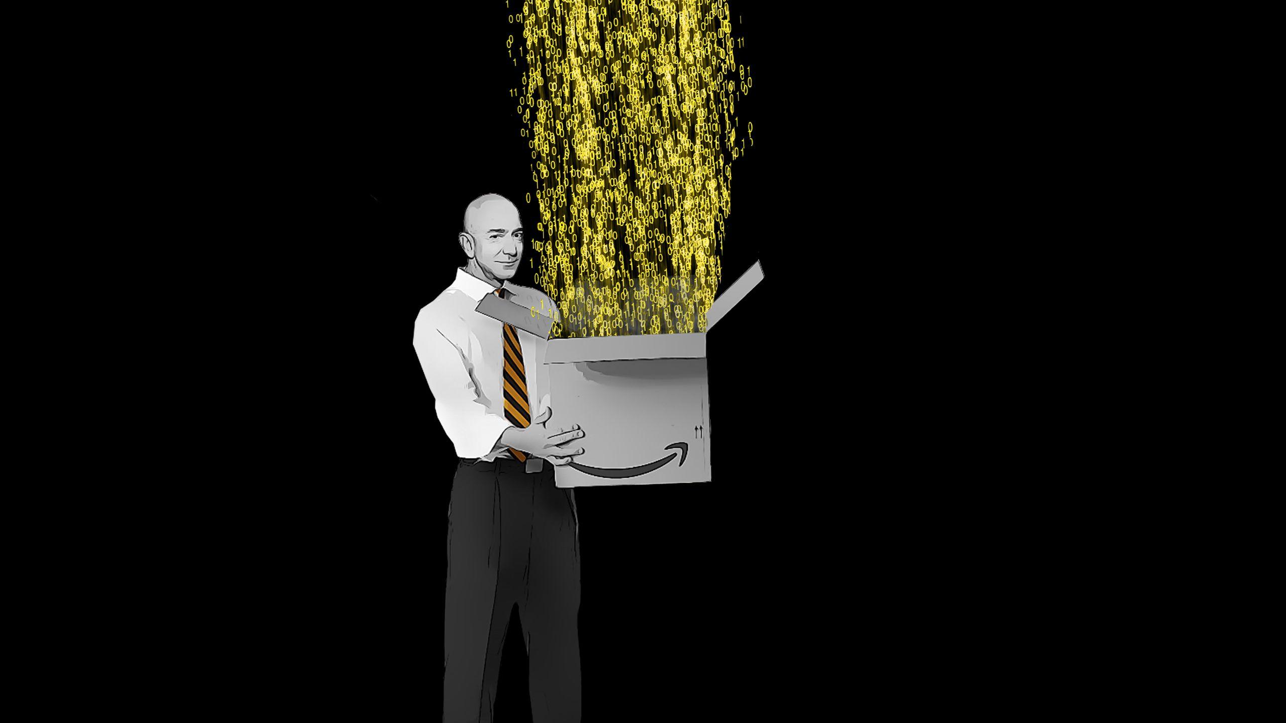 Amazon: How Bezos built his data machine