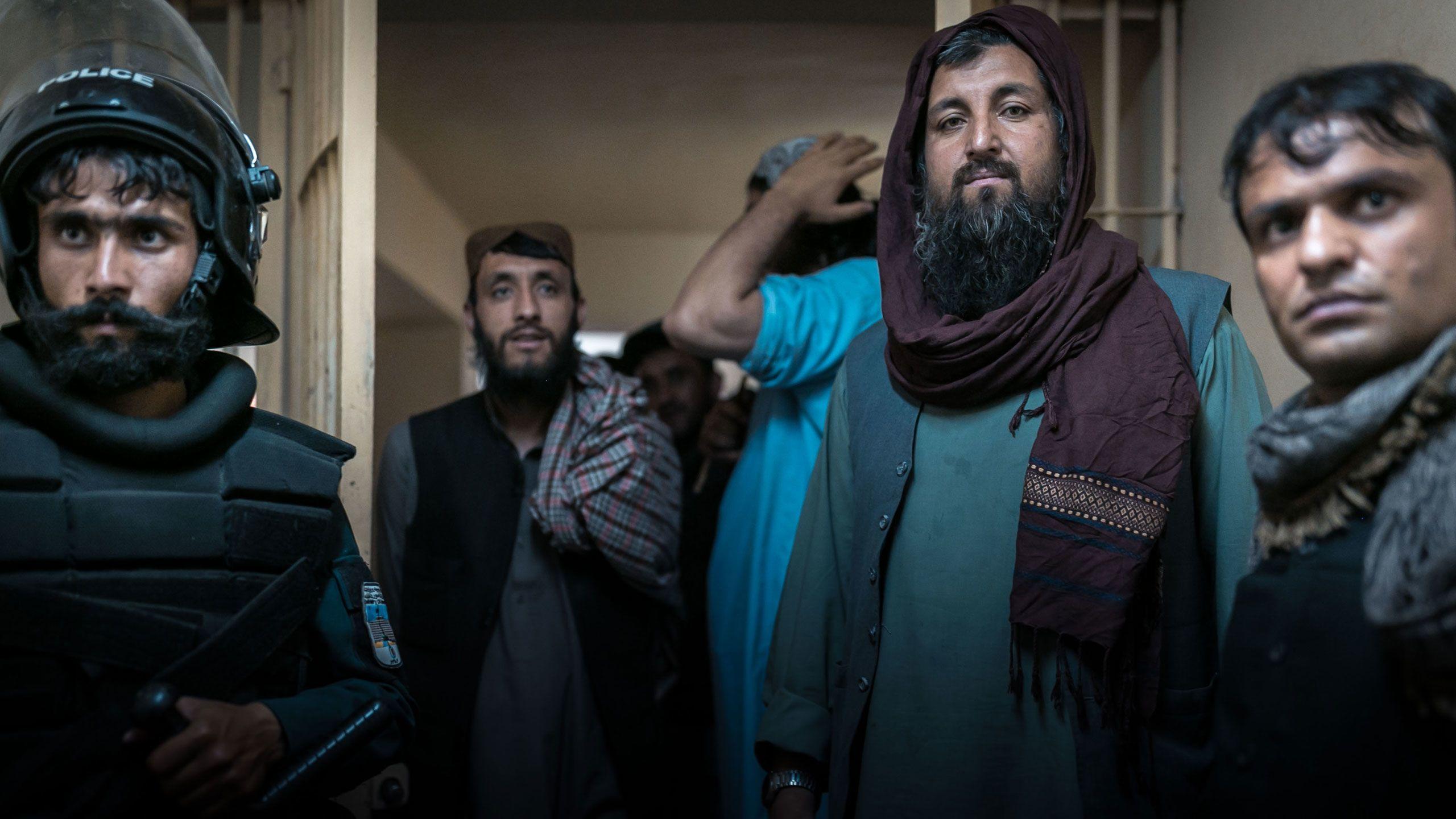 Prisoners in Pul-e-Charkhi prison