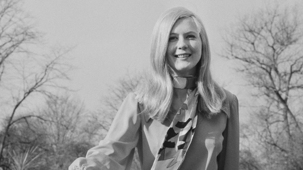 Frances Northcutt en 1970