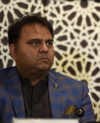 Fawad Chaudhry, Pakistan's science and technology minister