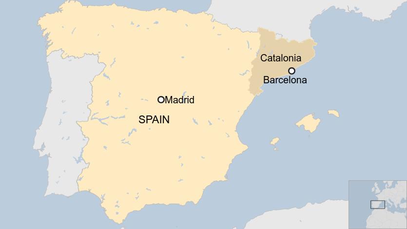 Catalan protests: Region's president urges immediate halt to violence 3