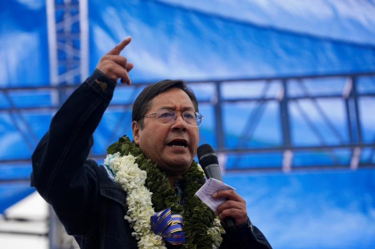 Presidential candidate Luis Arce speaks during a clos<a href=https://www.bbc.co.uk/news/world-latin-america-54591963>Read More – Source</a></p> [contf] [contfnew]         <img src=