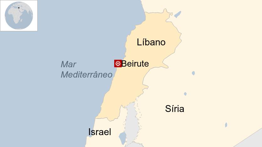 Megaexplosão lança 'nuvem cogumelo' no céu de Beirute, no Líbano; veja 23
