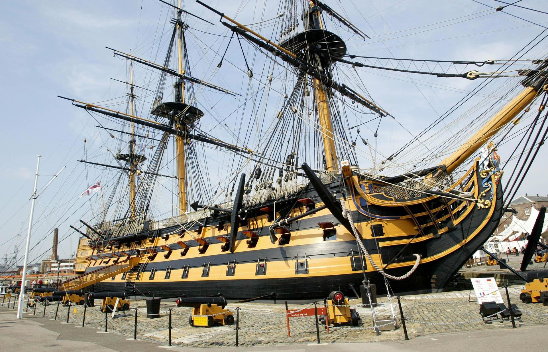HMS Victory in Portsmouth