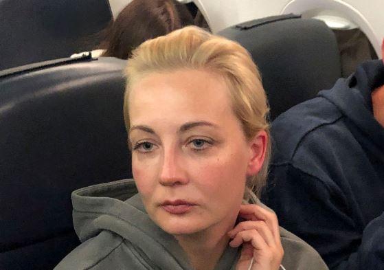 Yulia Navalnaya, 17 Jan 21