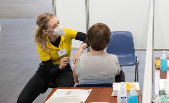 Dutch vaccination in Helmond