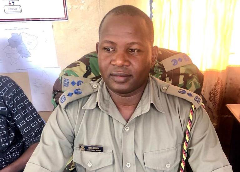 Fred Abuga, police commander in Rabai, Kenya's coast region