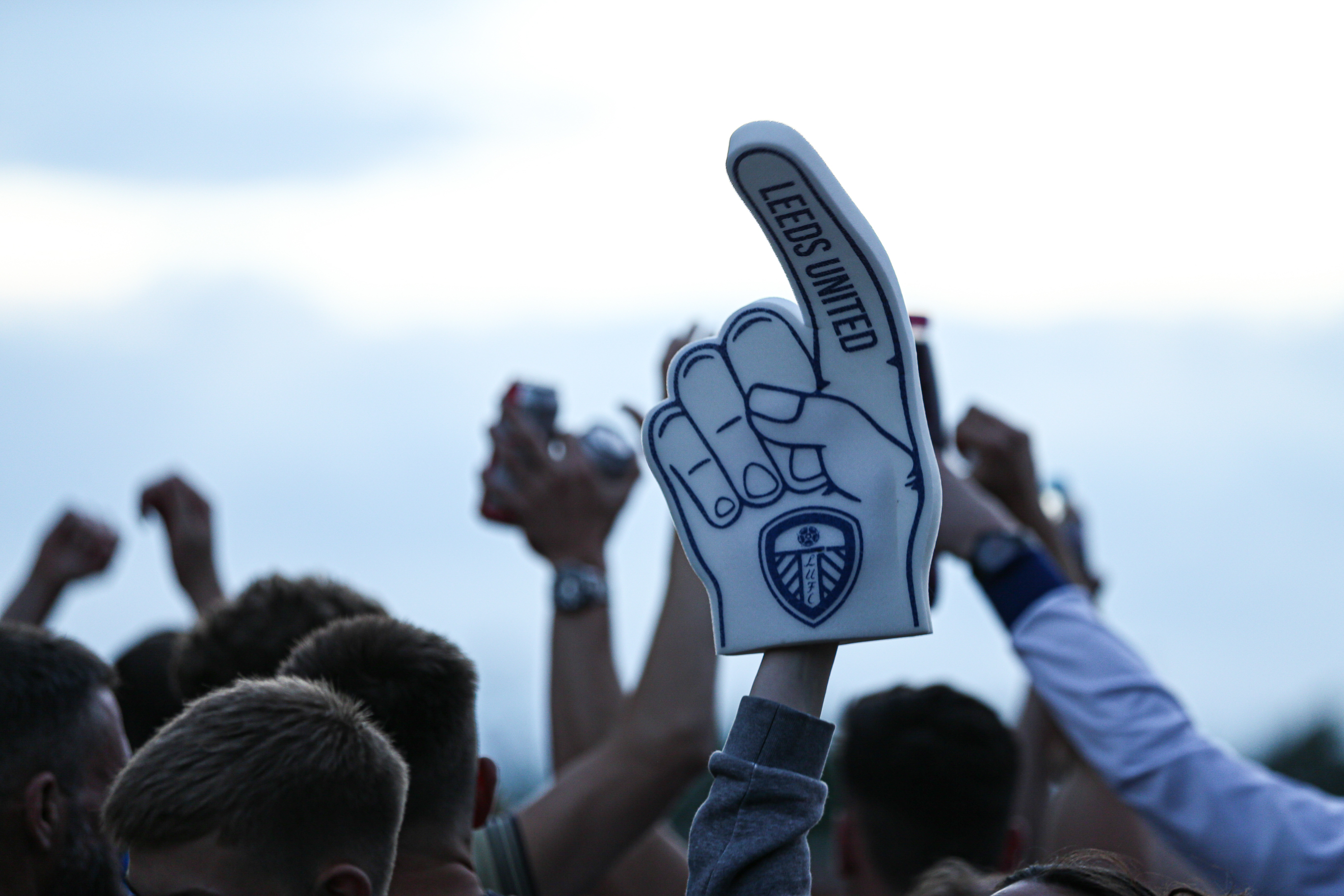 Leeds United foam finger