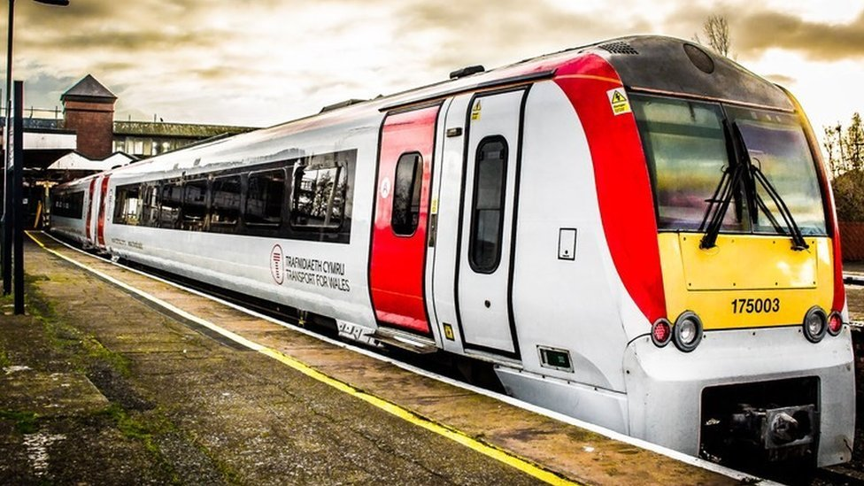 Transport for Wales train