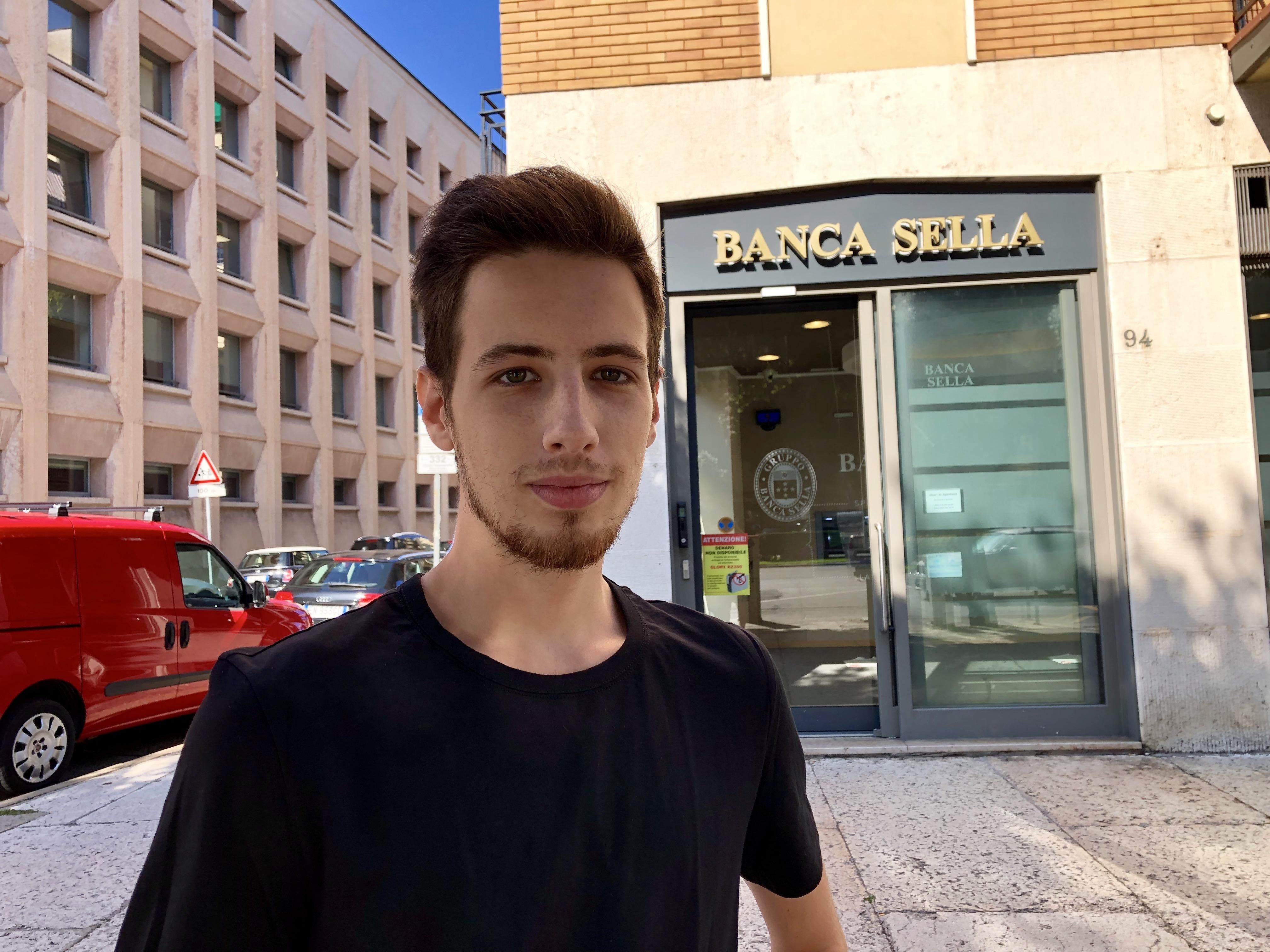 Student Matteo
