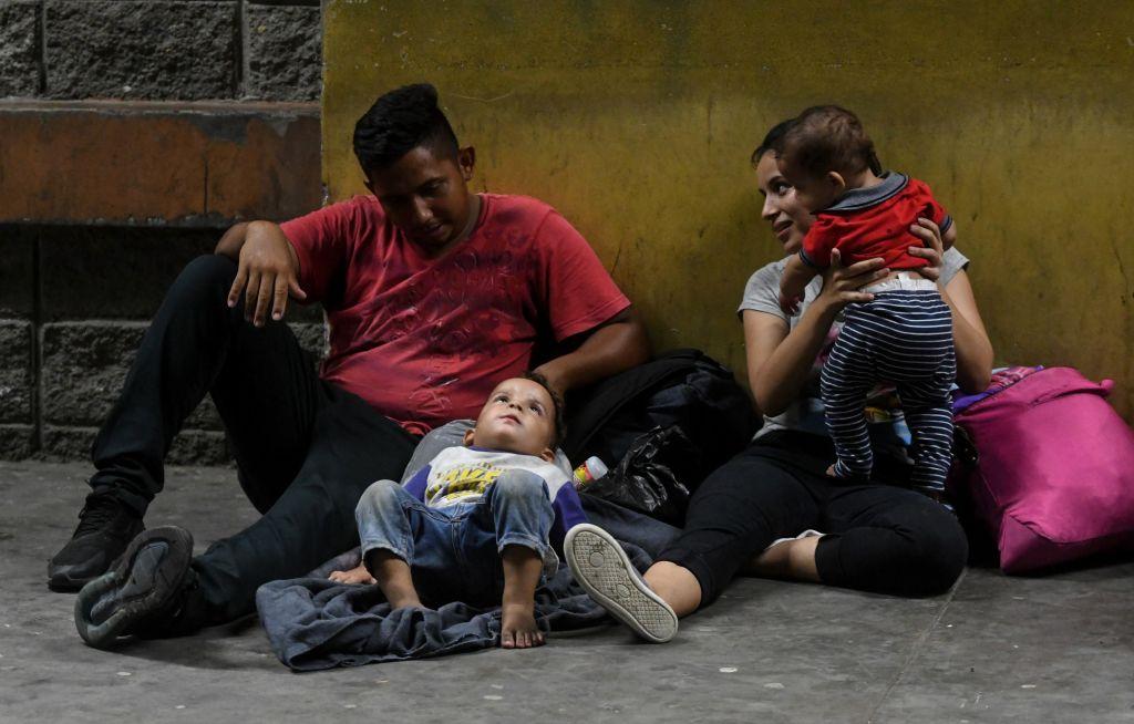Familia en Honduras