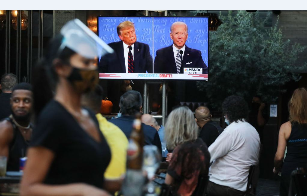 Presidential debate: Trump and Biden trade insults in chaotic debate 3