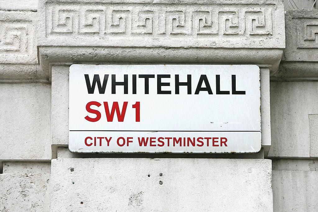 """""""Whitehall"""" sign"""