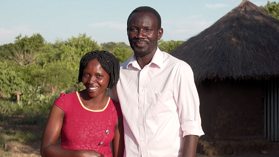 Herbat Wani, a refugee from South Sudan