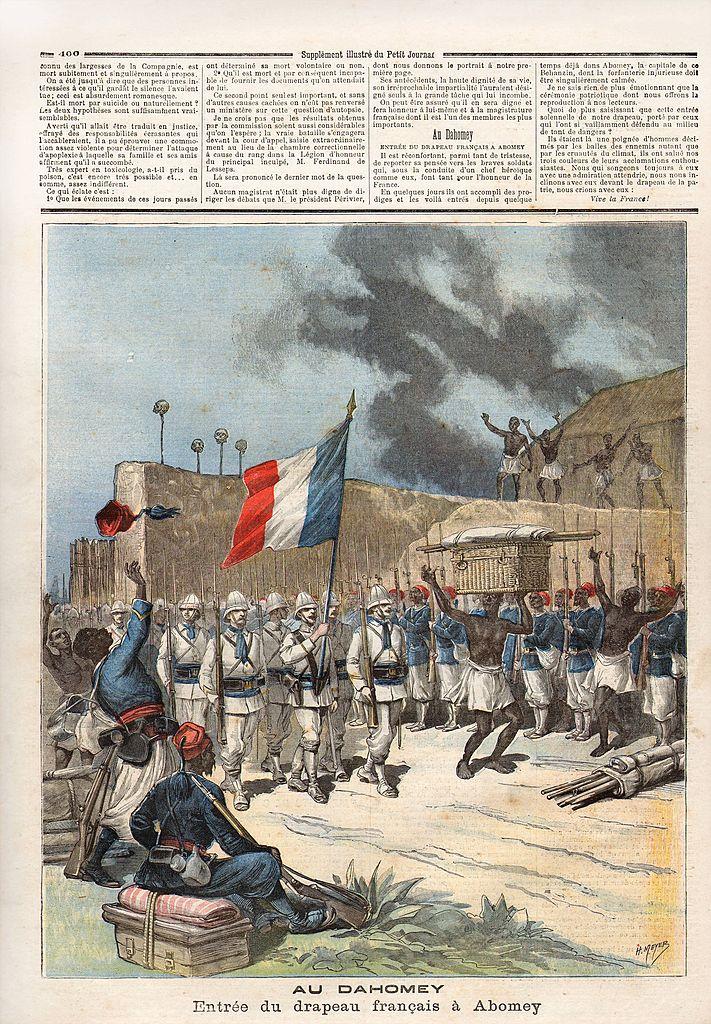 Periódico francés.