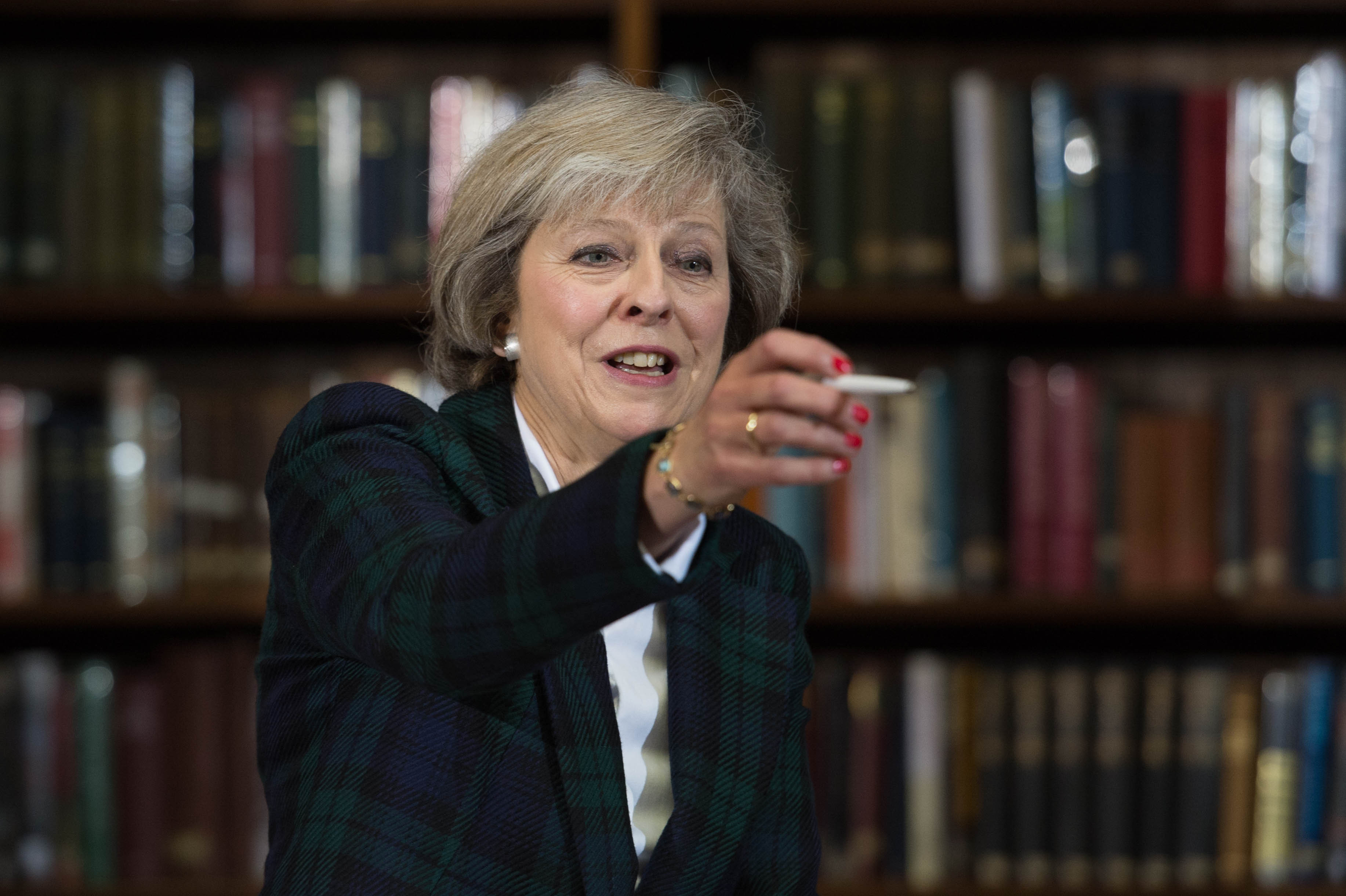 Theresa May launches her Conservative leadership campaign