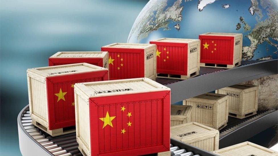 Contenedores chinos