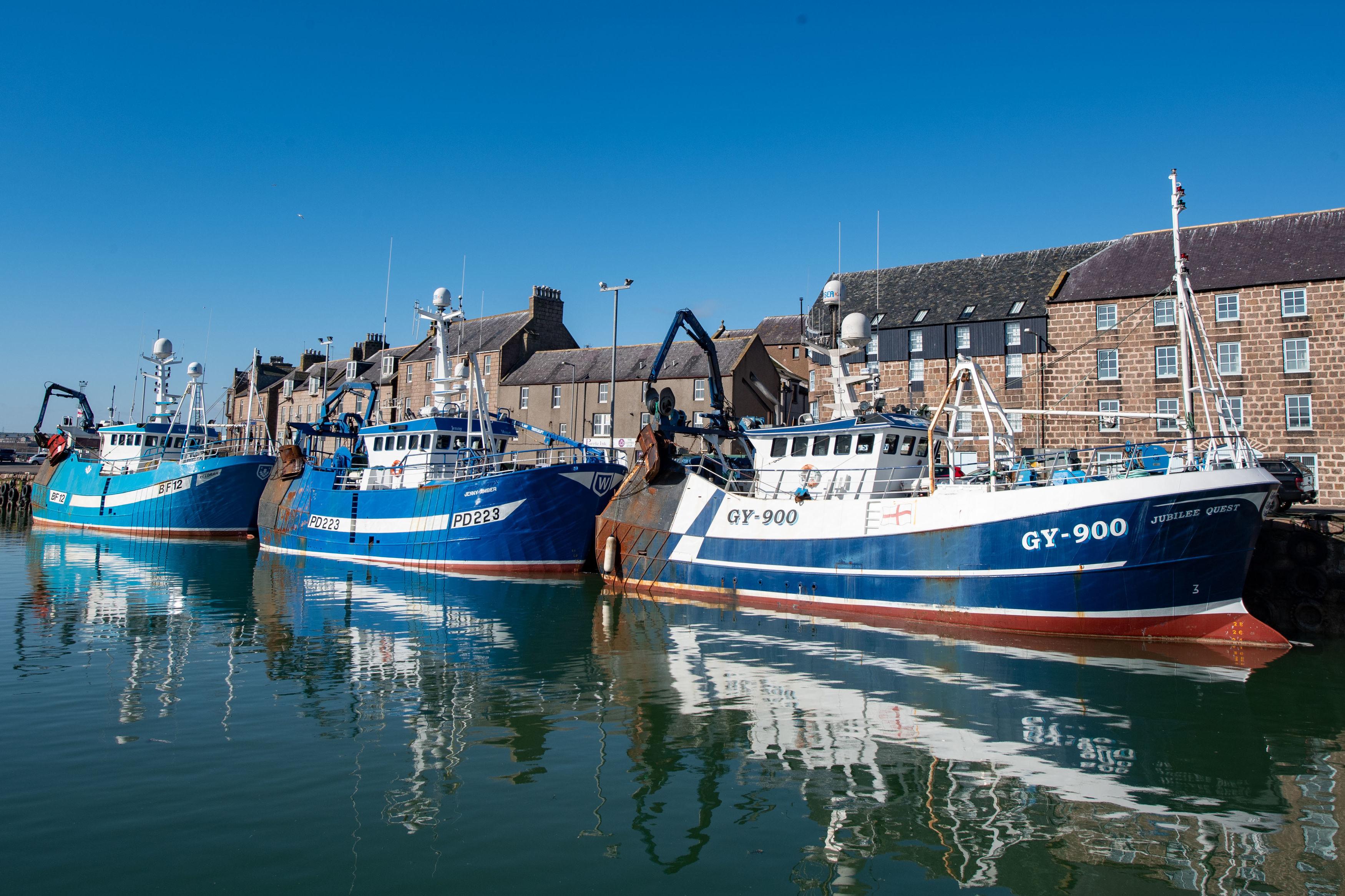 Trawlers in Peterhead
