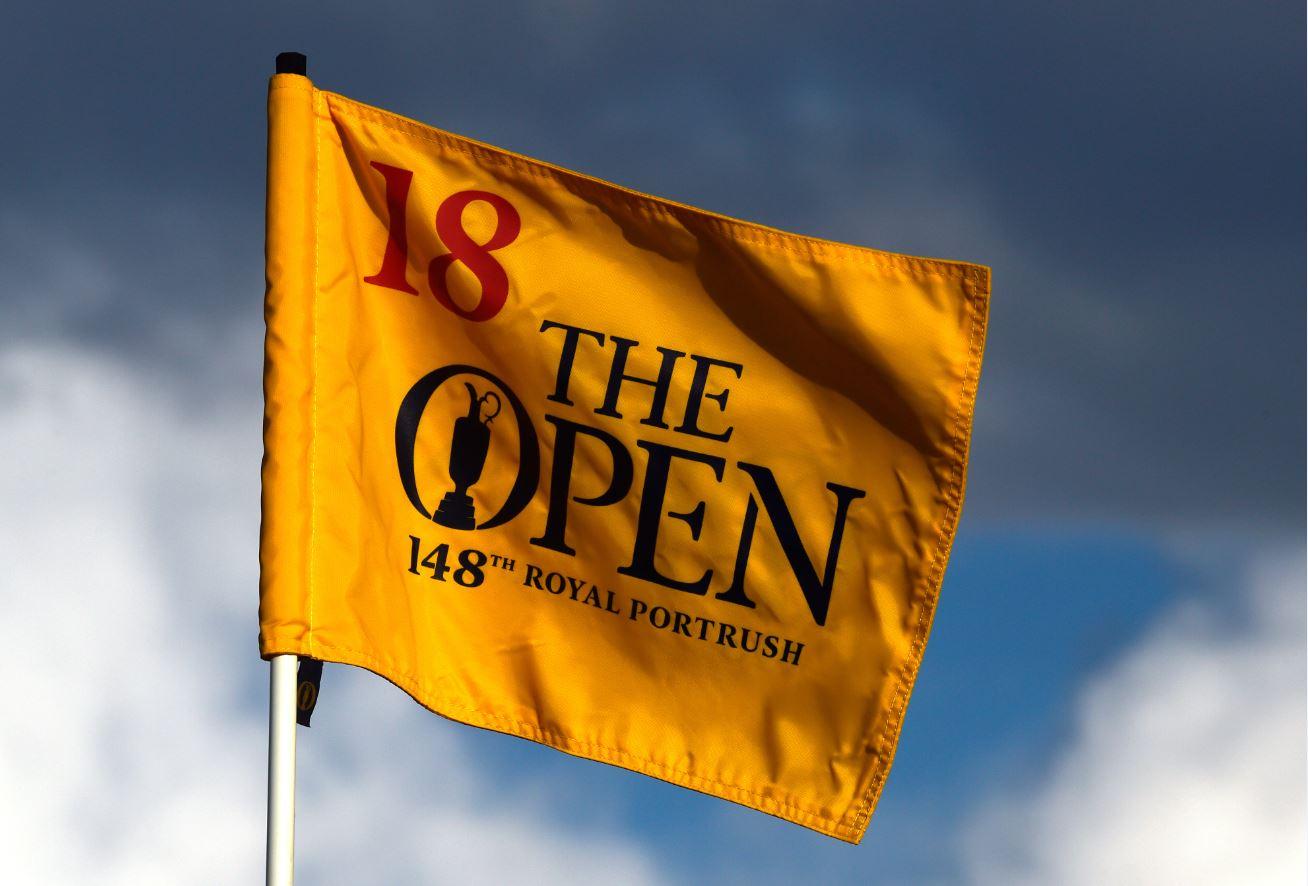 The Open flag Portrush 2019