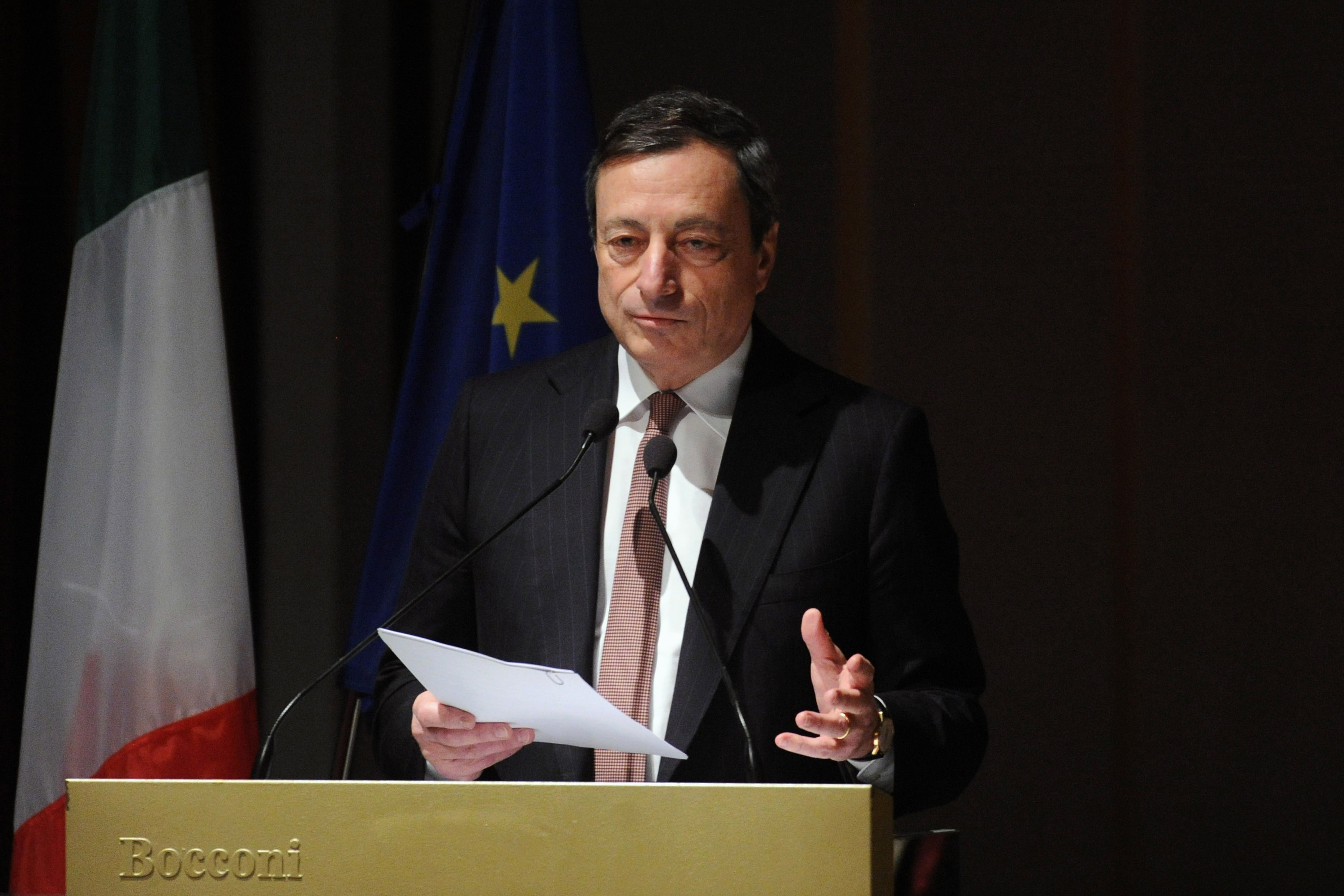 Mario Draghi , 26 July 2012