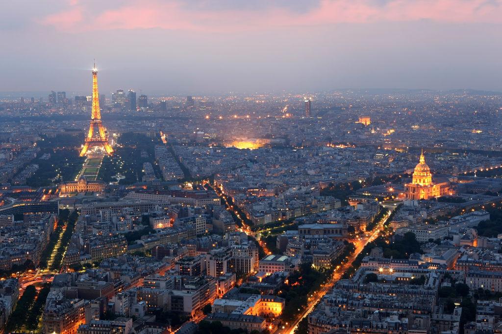 Panorámica de París.
