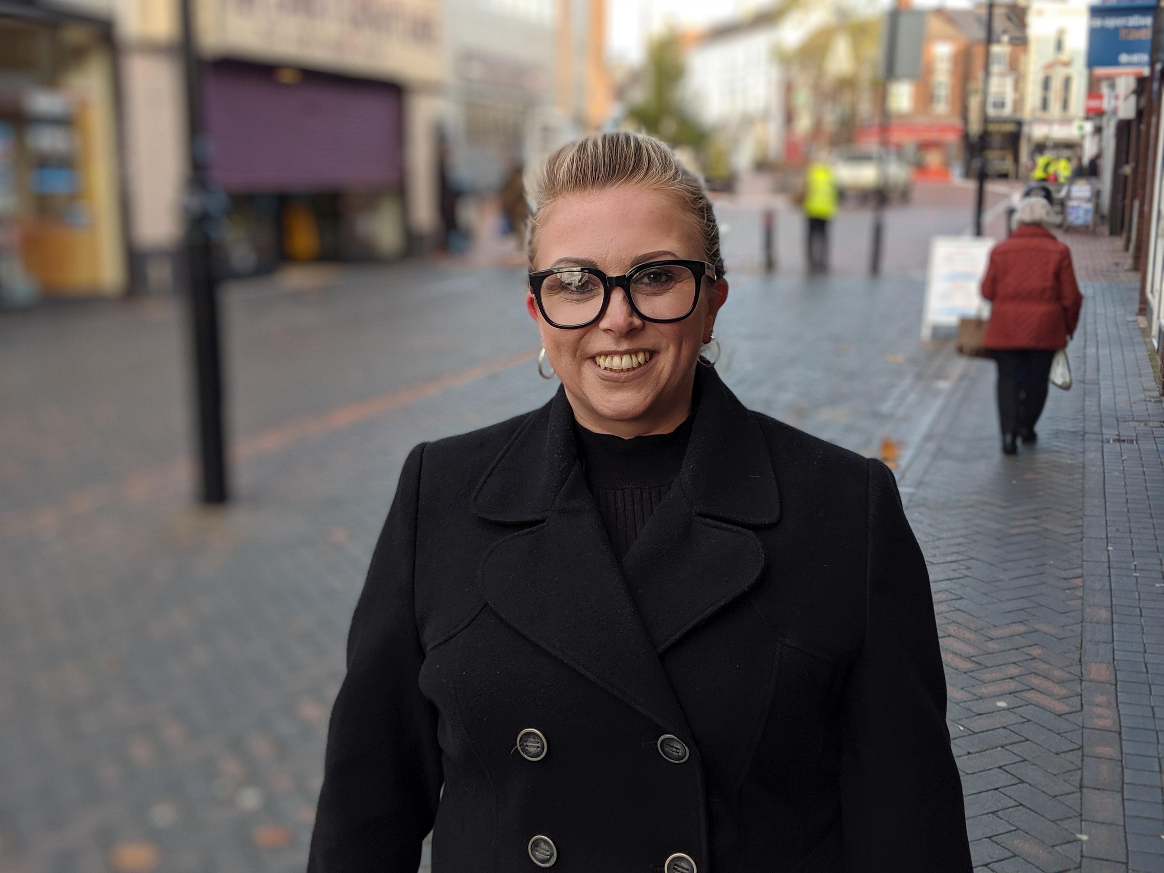 Danielle Robbins in Wednesbury