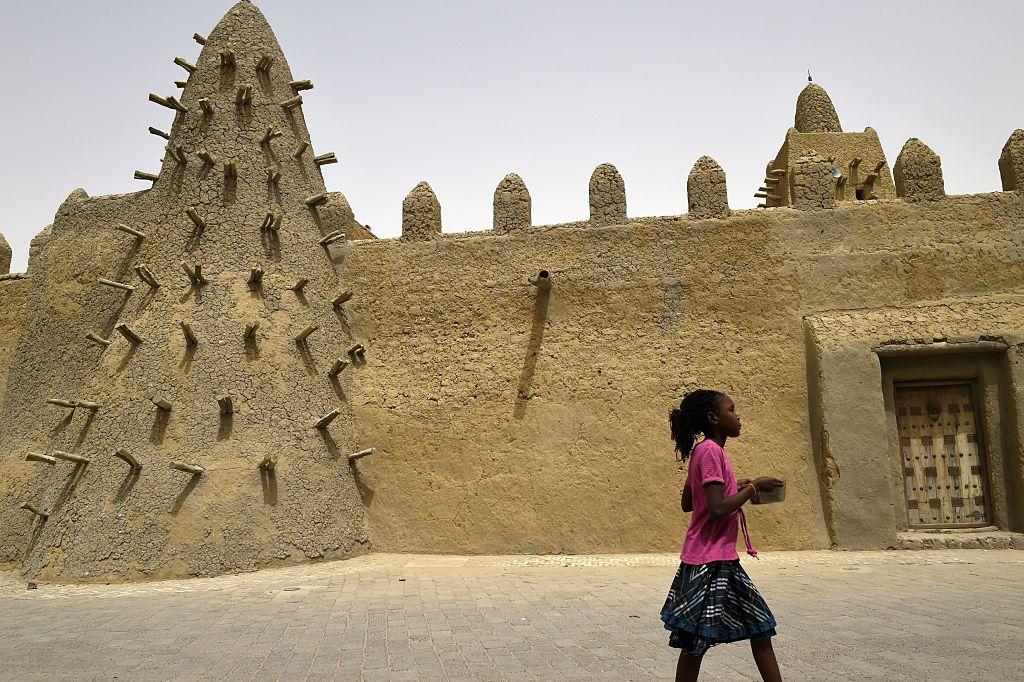 Joven en Malí.