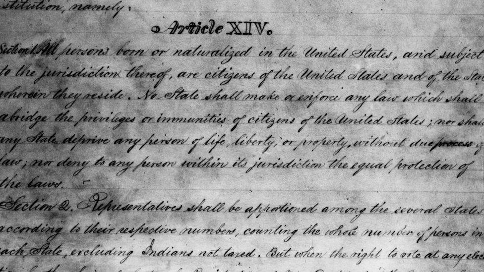 ABD Anayasası'nın 14. maddesi