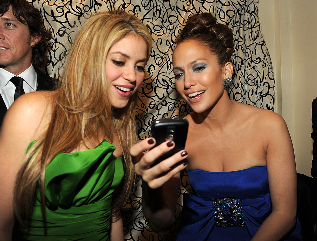 Shakira and Jennifer Lopez.