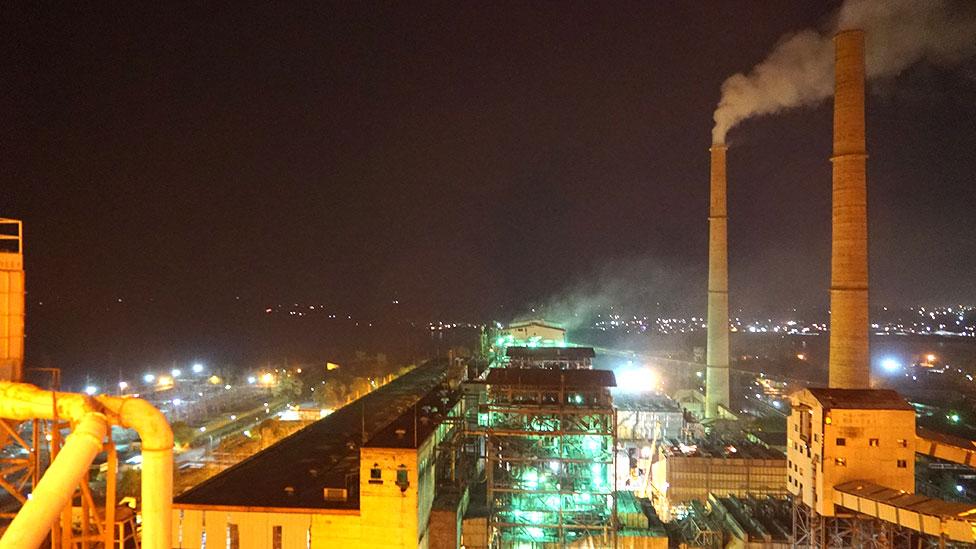 Coal plant, India