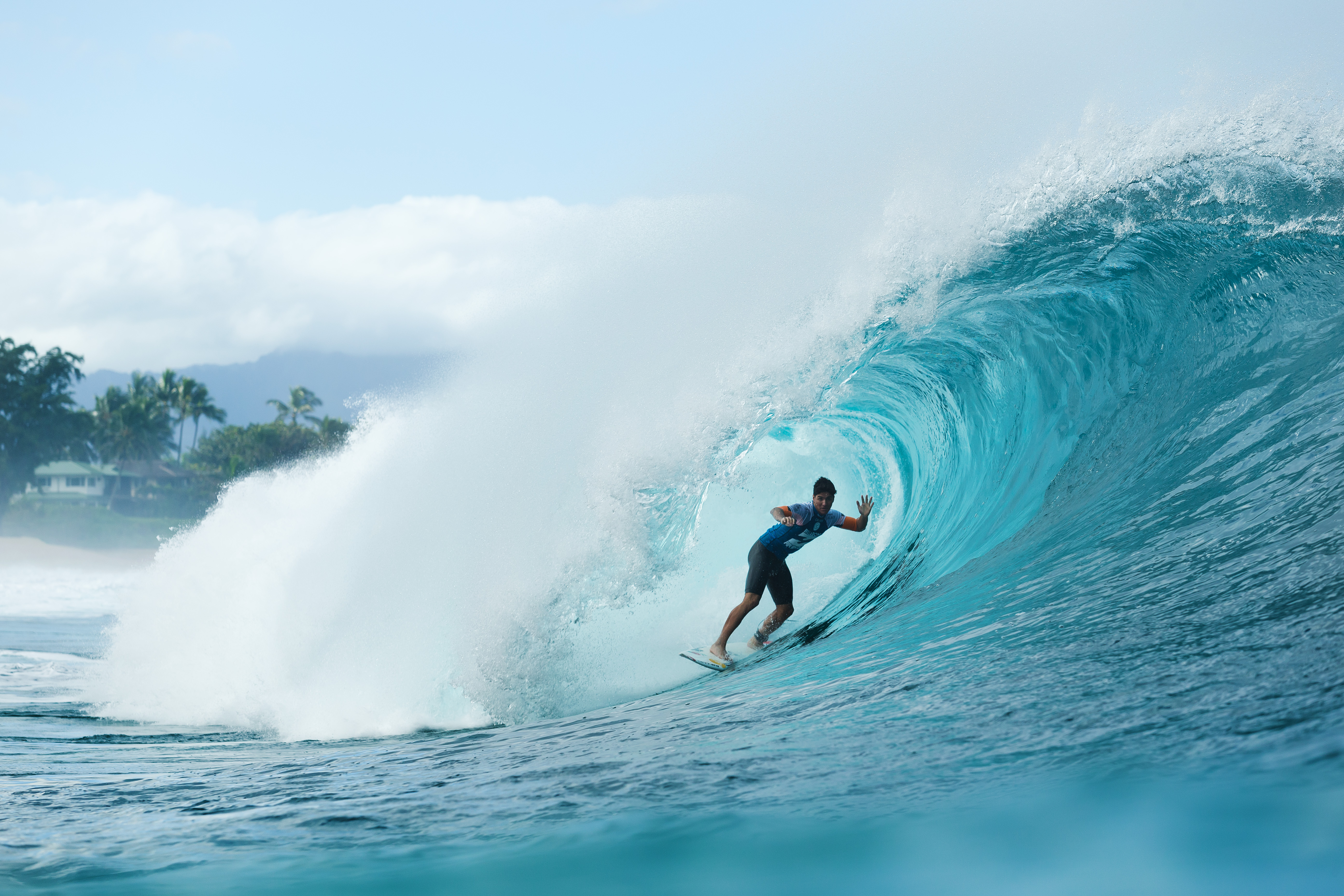 Gabriel Medina of Brasil won his maiden ASP World Title at the Billabong Pipe Masters in Memory of Andy Irons at Pipeline. 19 December, 2014 in North Shore, Hawaii.
