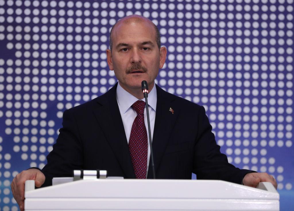 Interior Minister Suleyman Soylu