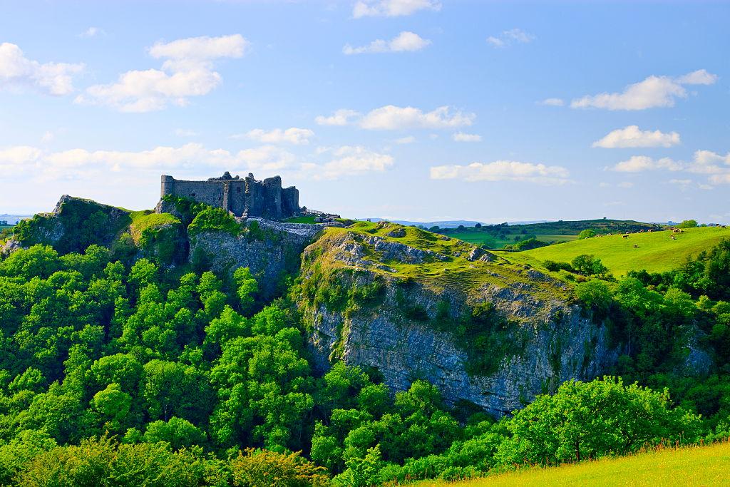 Carreg Cennen Castle, near Llandeilo, Carmarthenshire