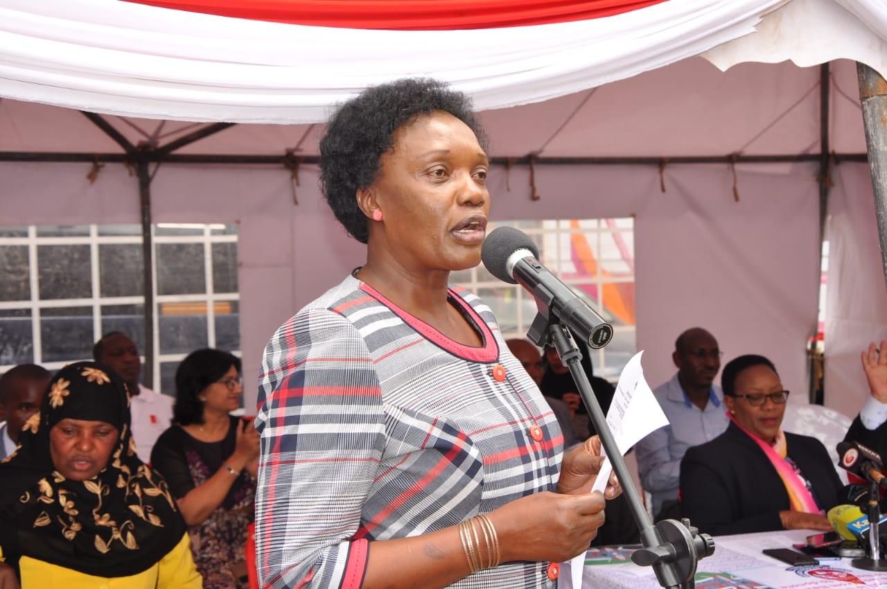 Fridah Govedi of the Kenya National Blood Transfusion Service