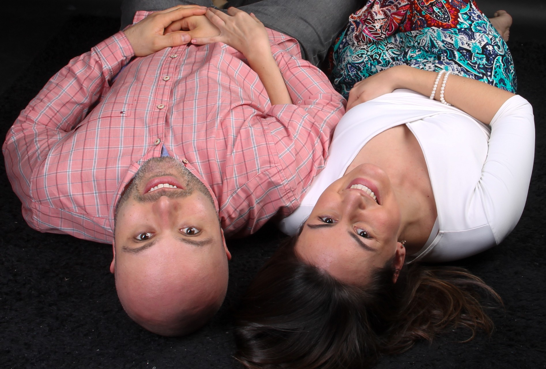 Richard Cunha Schmidt and his wife