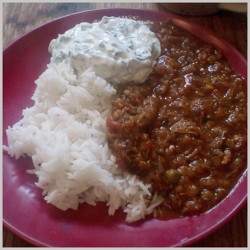 """Katie's """"half decent"""" stew"""