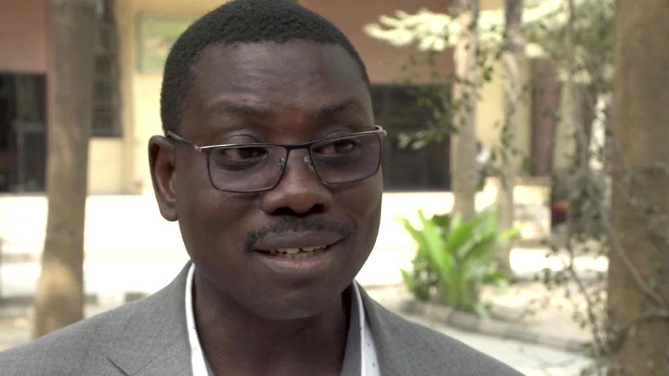 Portrait of Dr Agunbiade