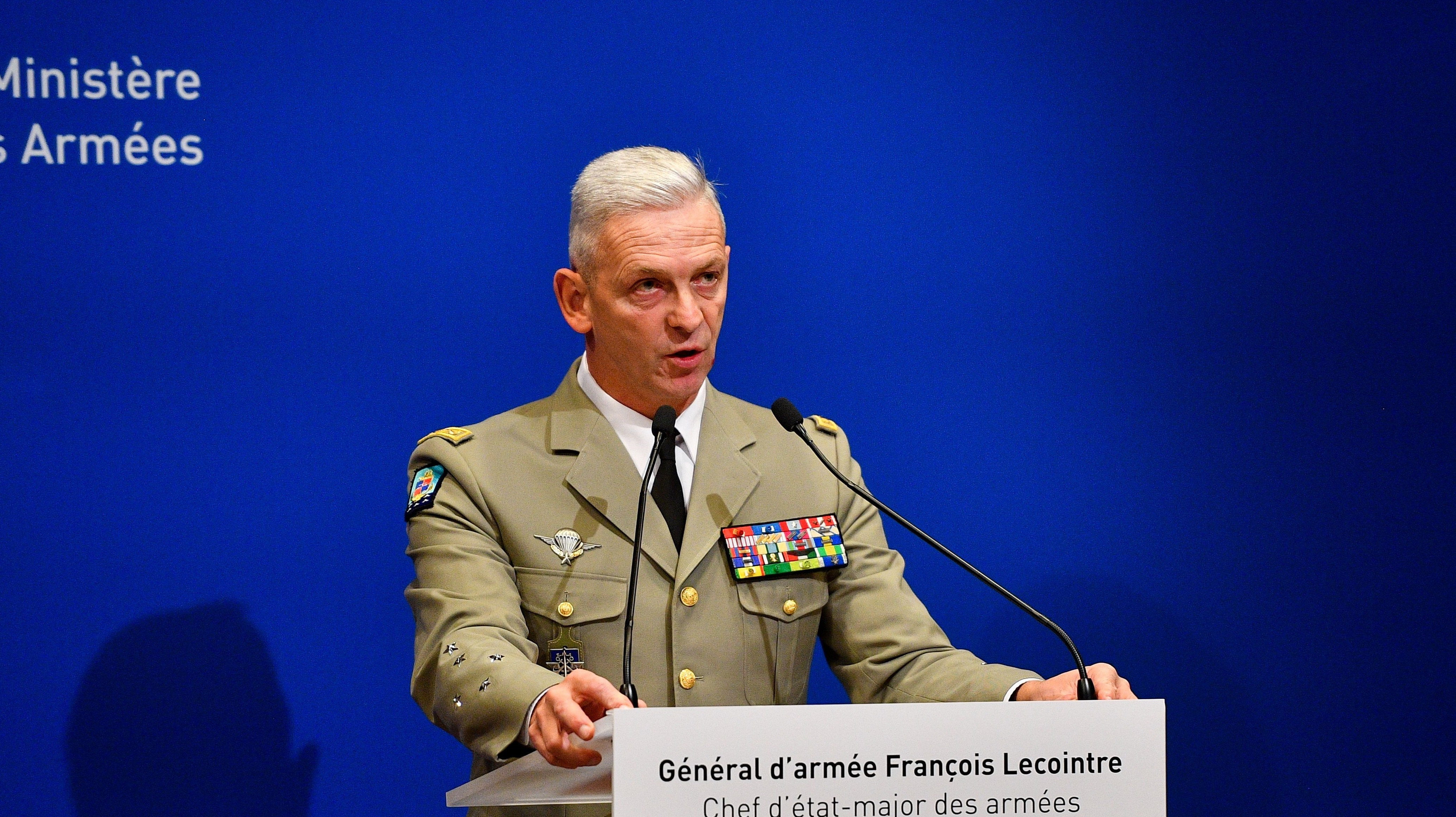 French army chief of staff, Francois Lecointre
