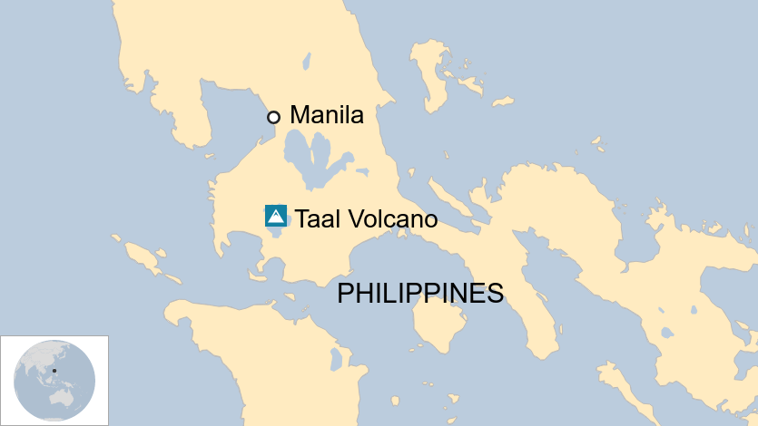 Thousands evacuated in Philippines as volcano RUMBLES