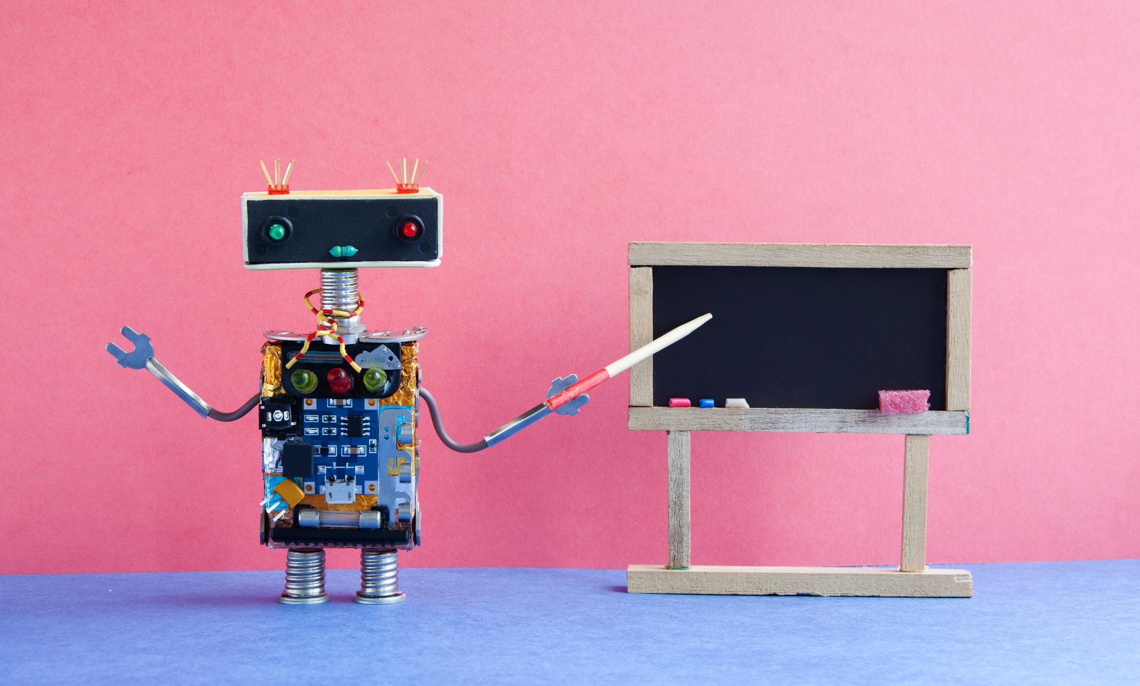 Robot educador