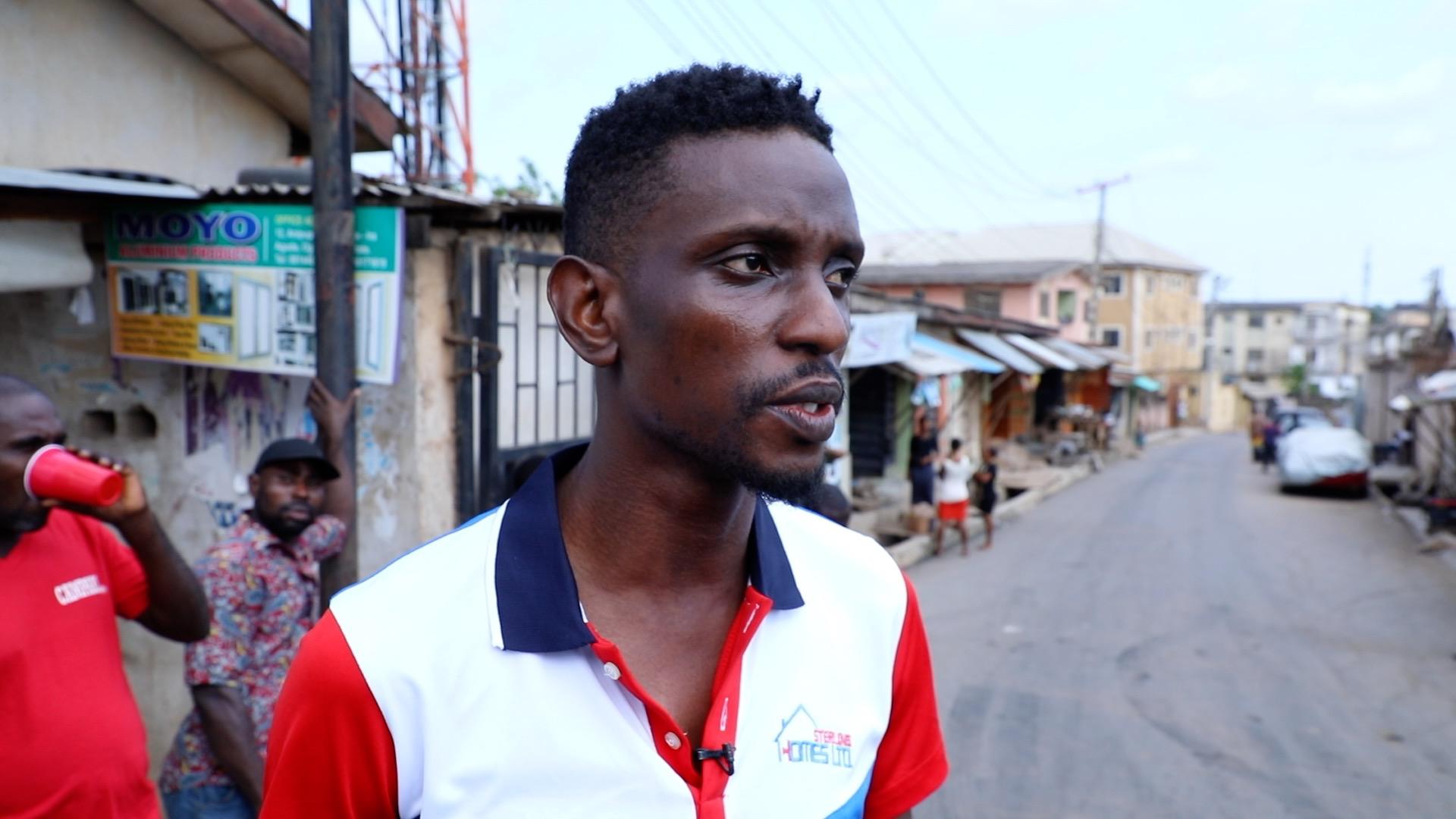 Deji Francis, Lagos resident