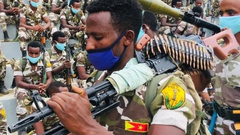 The Tigray region's special police forces