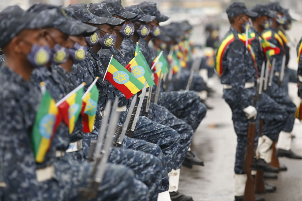 Ethiopian police offiers