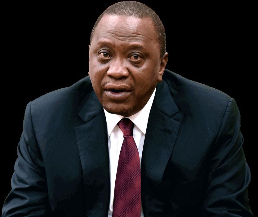 Photo of Kenya President Uhuru Kenyatta