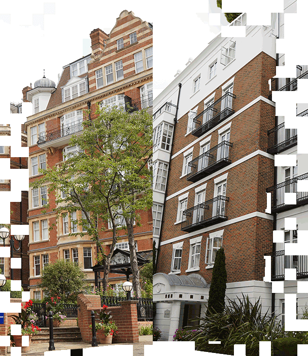 Photo of two flats in London