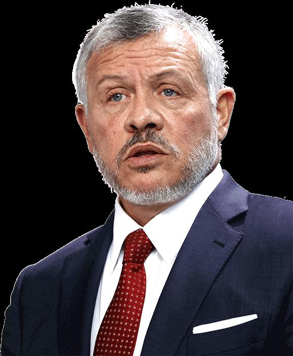 Photo of the King of Jordan