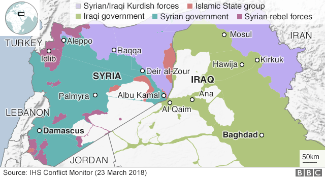 Islamic State and the crisis in Iraq and Syria in maps - BBC News